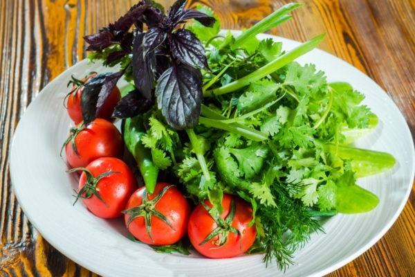 Овощной букет «По-грузински»