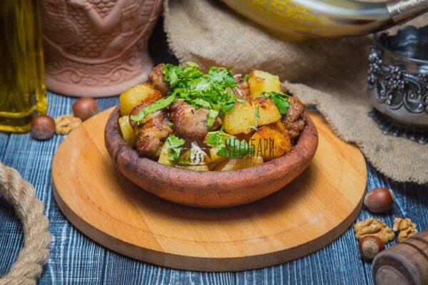 Оджахури с телятиной на кеци