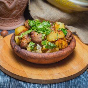 Оджахури со свининой на кеци