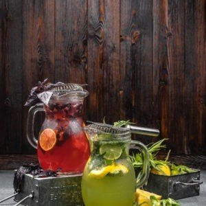 Домашние лимонады